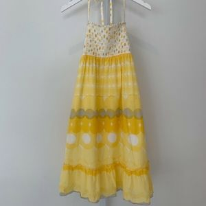 JUICY COUTURE YELLOW STRAPLESS DRESS SIZE P NWOTS!